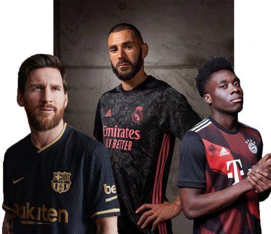 زیباترین لیاس های فوتبال 2021