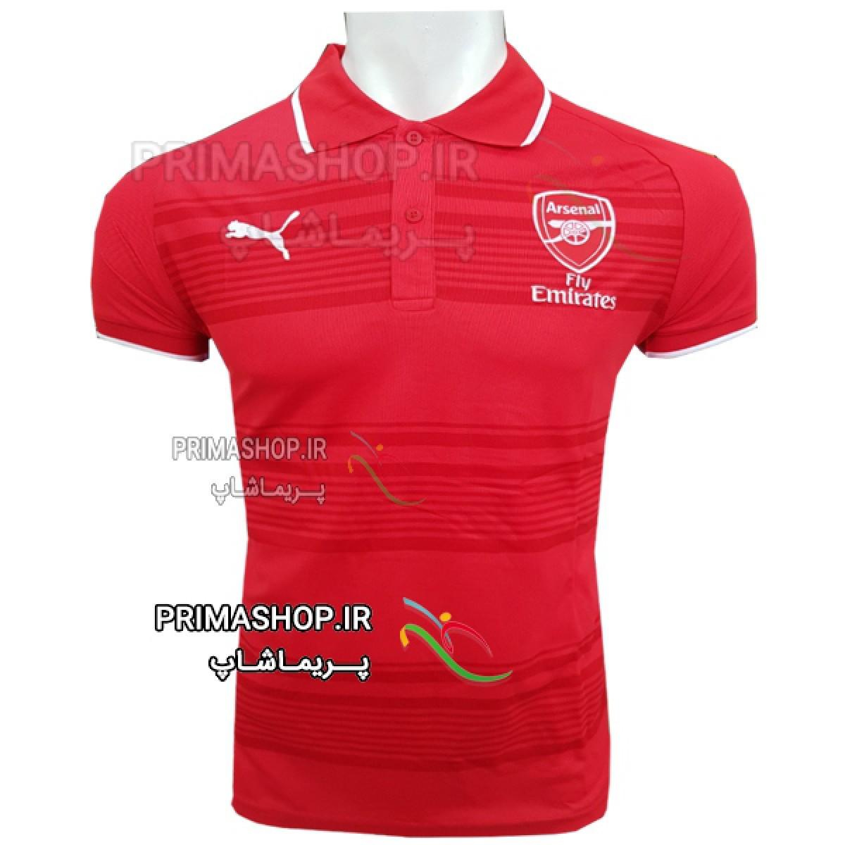 پیراهن هتلی آرسنال قرمز 2018/19  اورجینال تایلندی