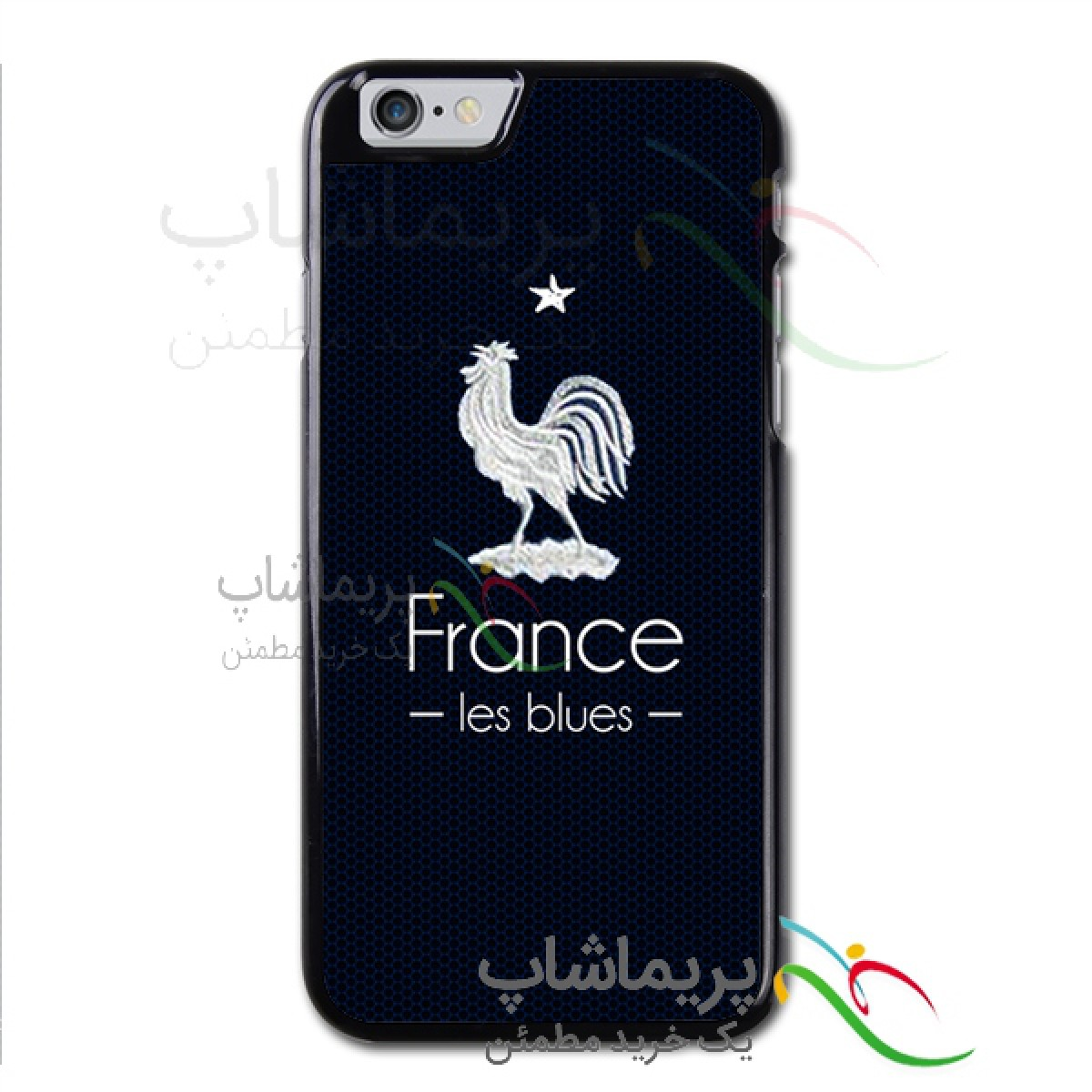 قاب موبایل فرانسه طرح یک