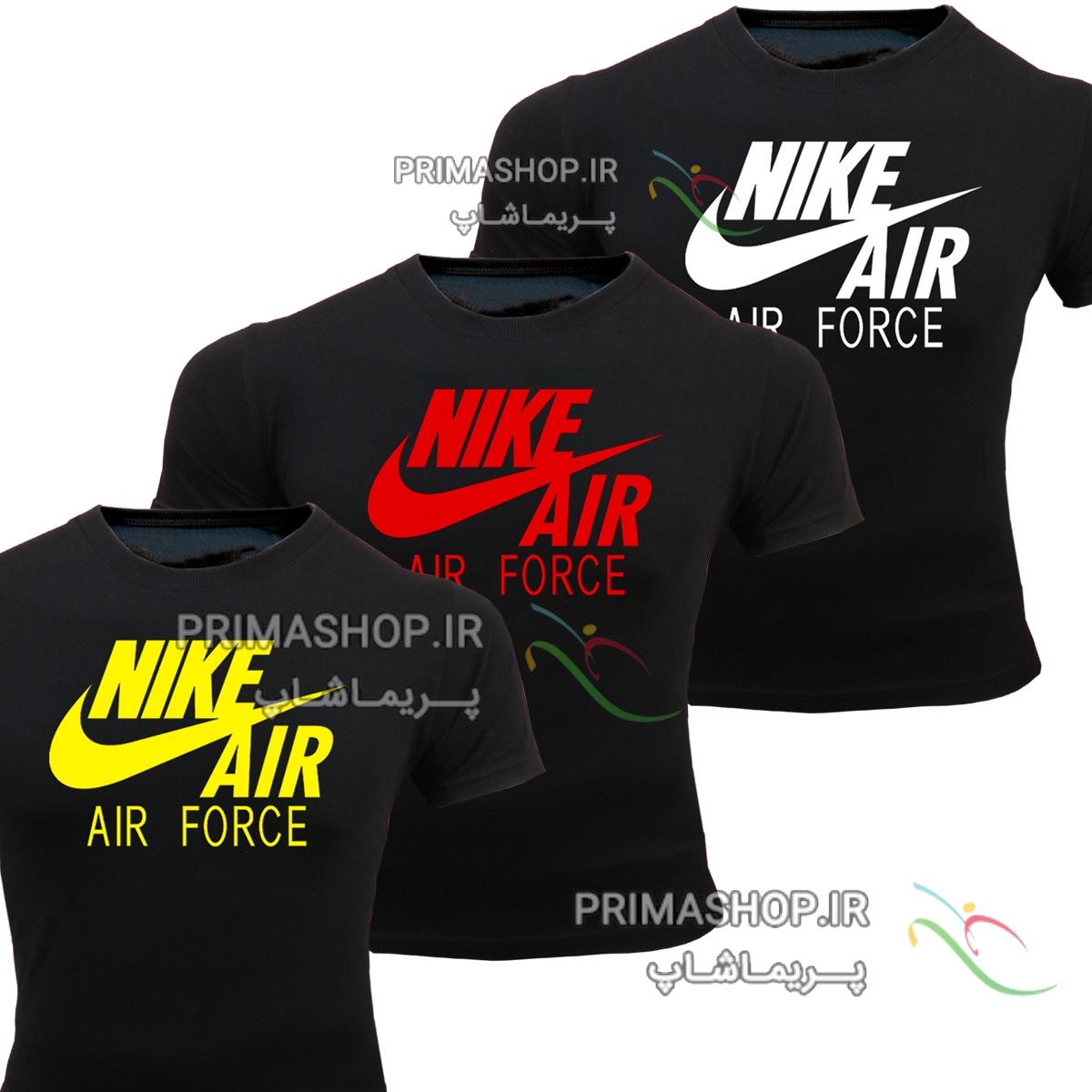 لباس اسپرت  نایک  مردانه طرح Air force مشکی