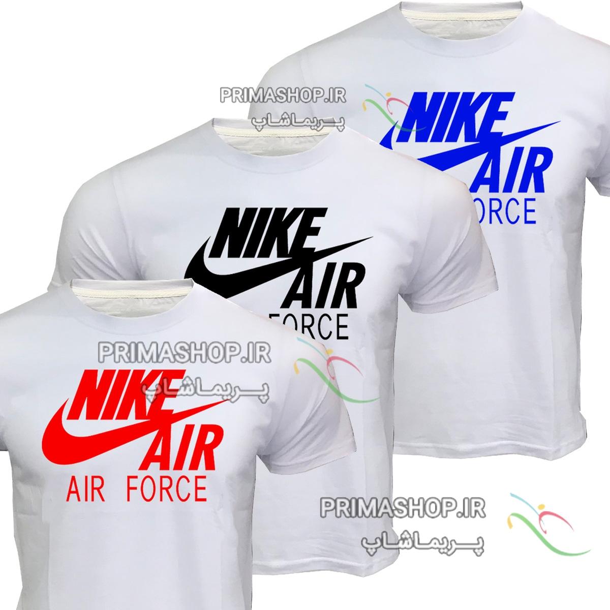 لباس اسپرت  نایک  مردانه طرح Air force سفید