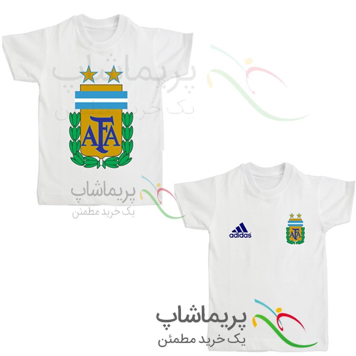 لباس هواداری آرژانتین  بچه گانه