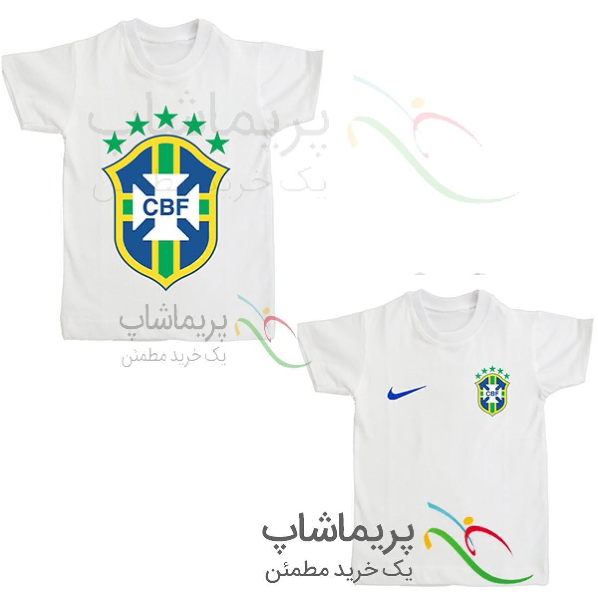 لباس هواداری برزیل بچه گانه