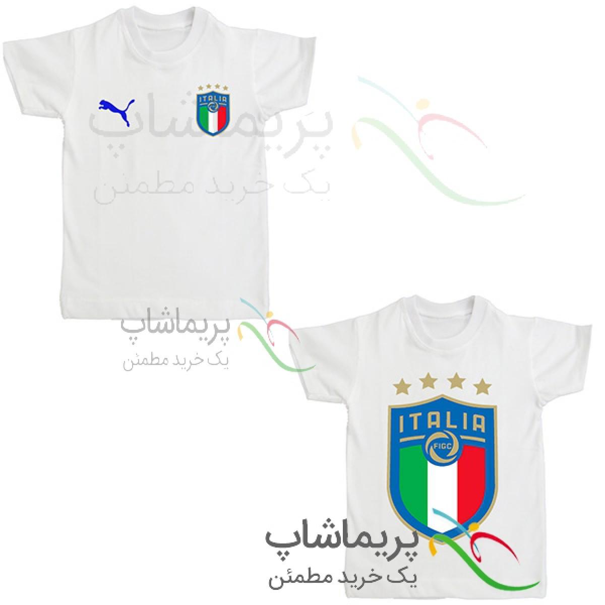 لباس هواداری ایتالیا بچه گانه