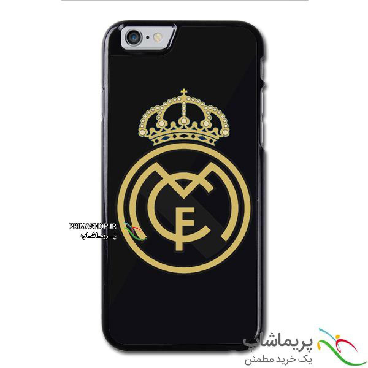 قاب موبایل رئال مادرید لوگو طلایی