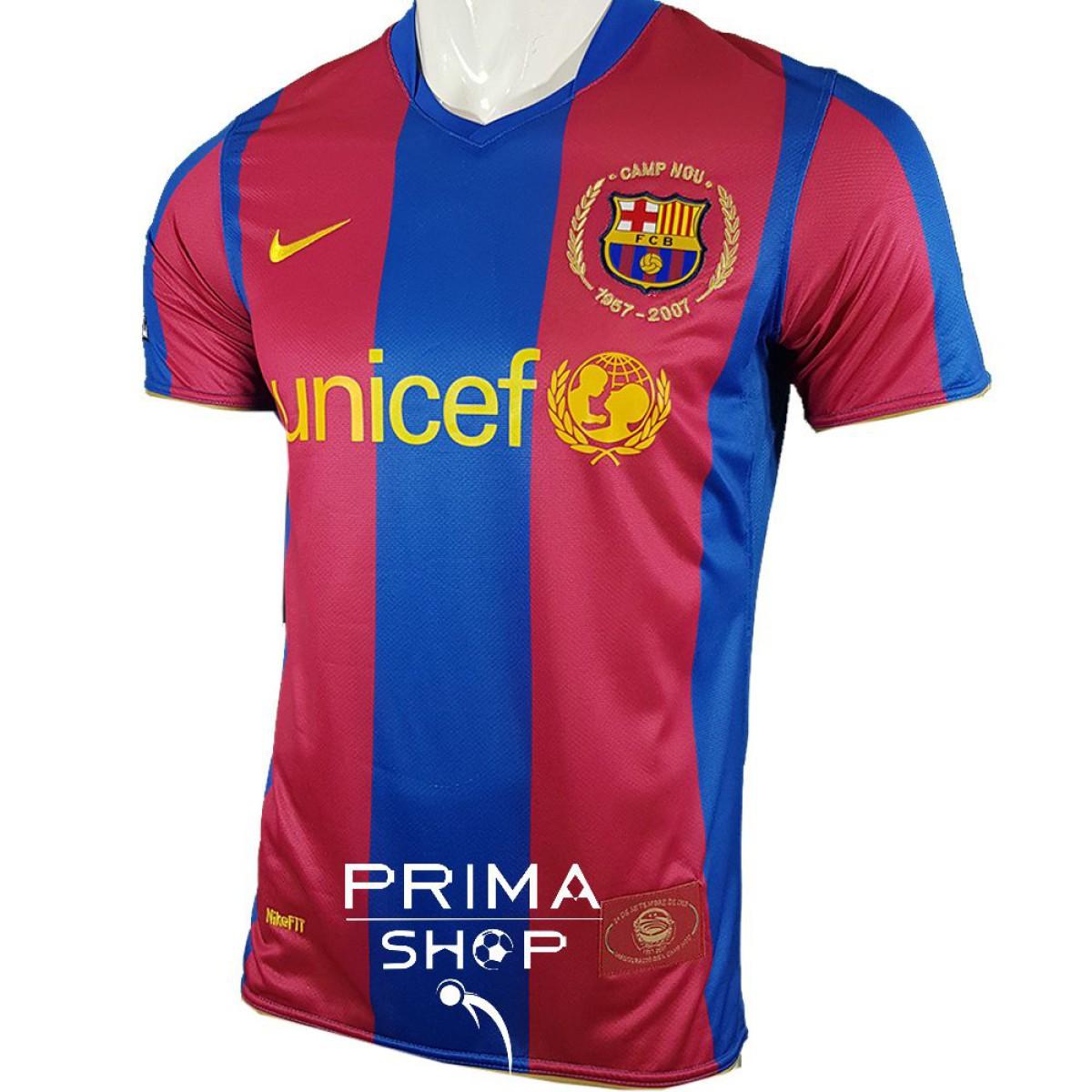 لباس کلاسیک بارسلونا 2008