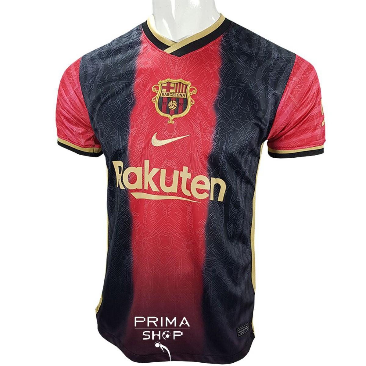 لباس کانسپت بارسلونا 2022 مشکی قرمز