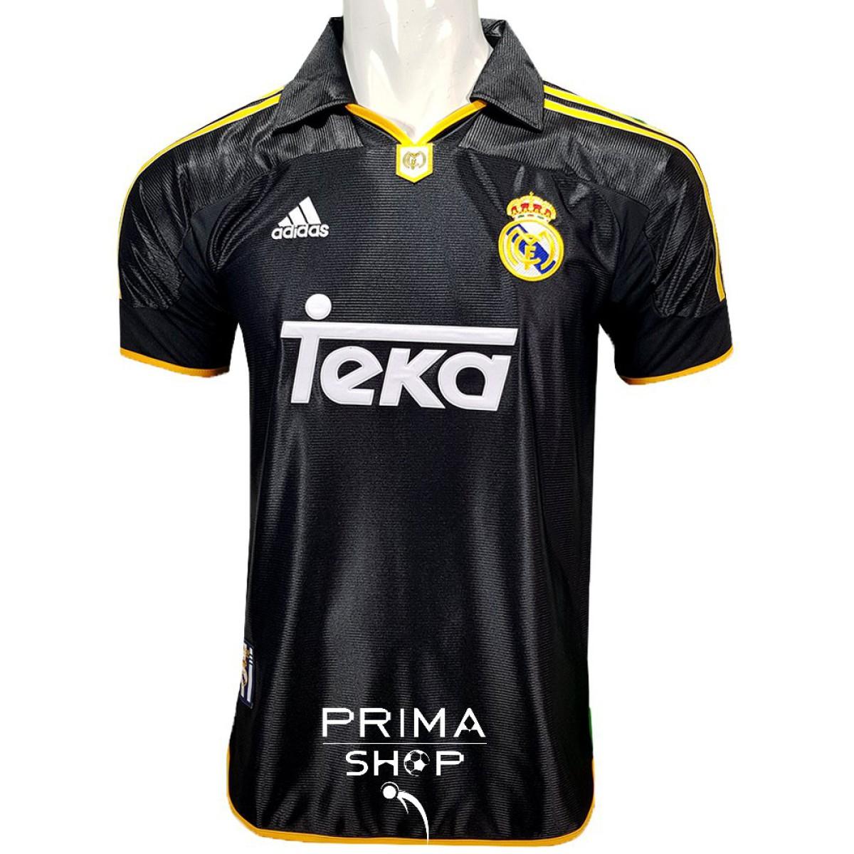 لباس کلاسیک دوم رئال مادرید 2000