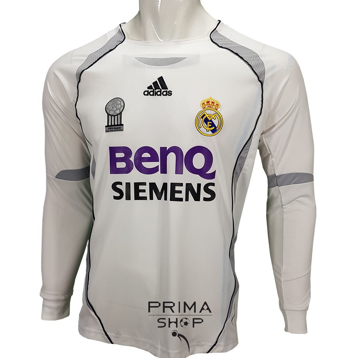 لباس کلاسیک رئال مادرید 2007
