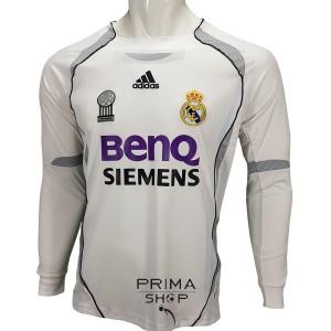 لباس کلاسیک رئال مادرید 2007 آستین بلند