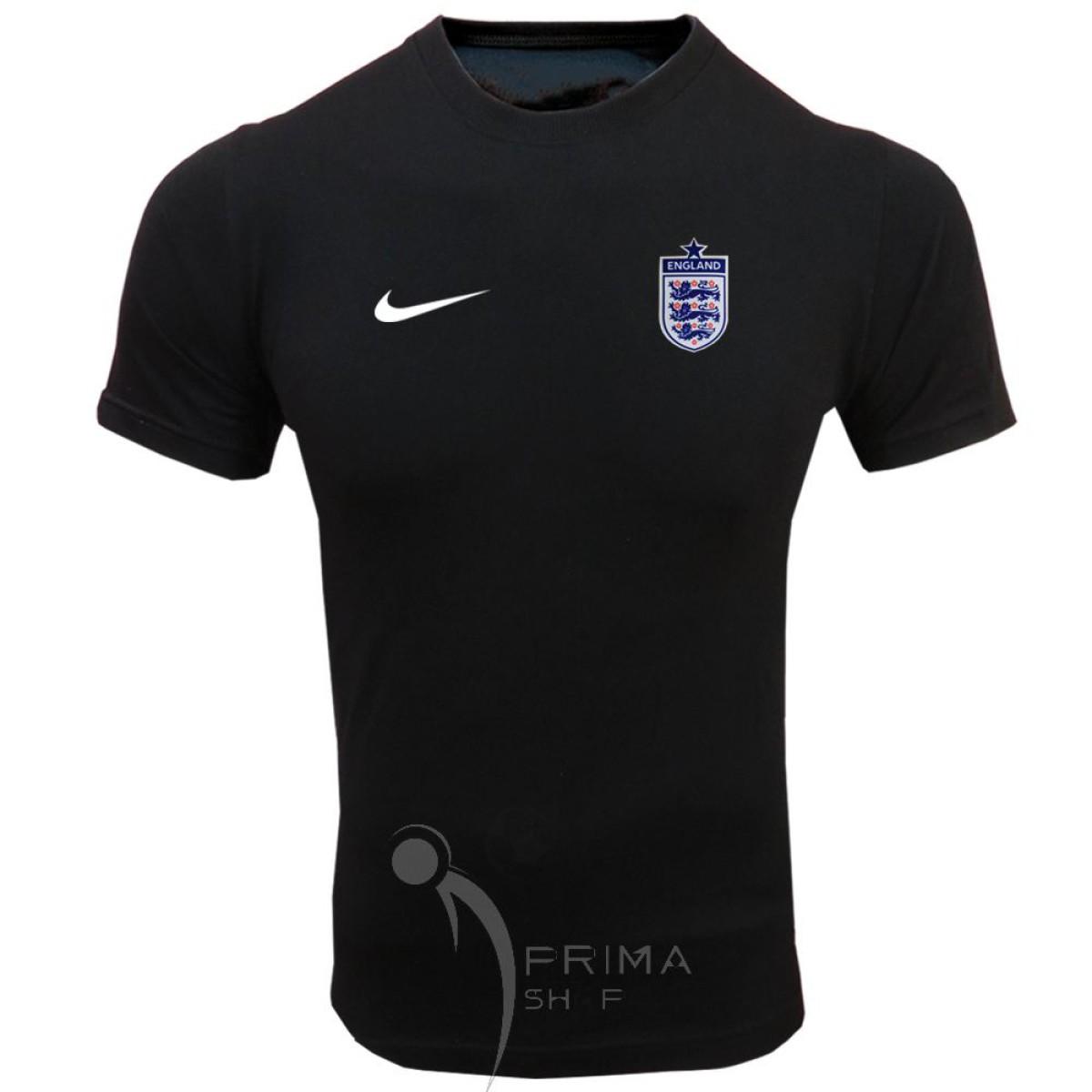 لباس هواداری انگلستان مشکی | تیشرت آستین کوتاه