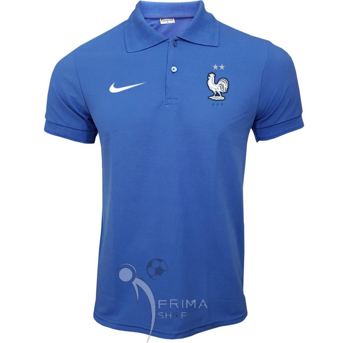 پولوشرت فرانسه آبی تیشرت هتلی