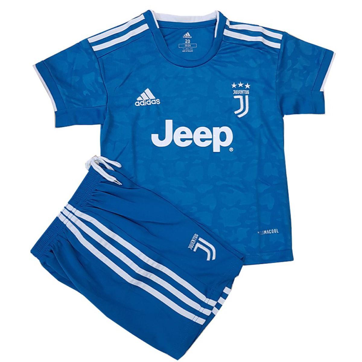 لباس بچه گانه سوم یوونتوس 2020   ست فوتبال پسرانه
