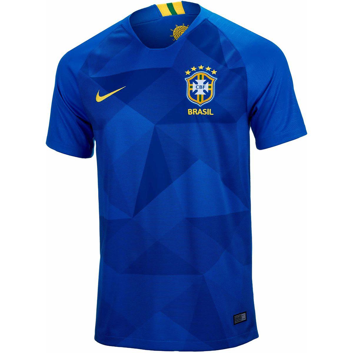 پیراهن دوم برزیل جام جهانی 2018 تایلندی