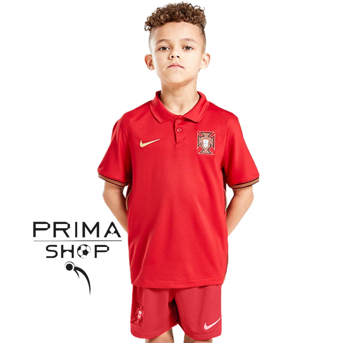 لباس بچه گانه تیم ملی پرتغال 2020 | پیراهن شورت بچه گانه پرتغال