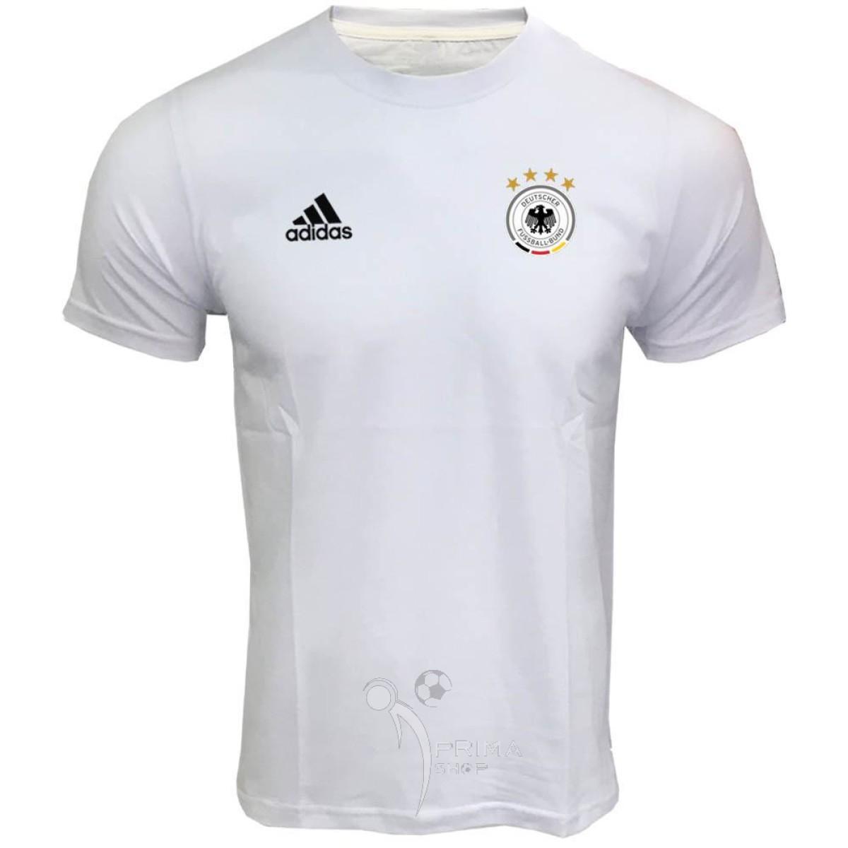 لباس هواداری آلمان سفید تیشرت آستین کوتاه